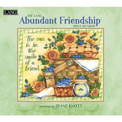 Lang Abundant Friendship 2014 Wall Calendar