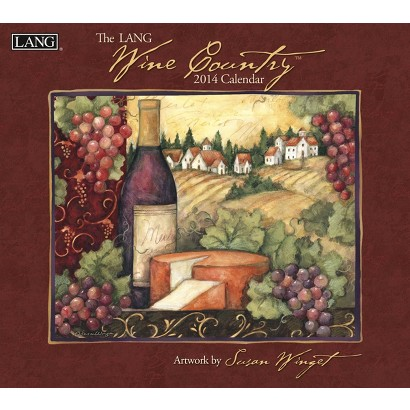Lang Wine Country 2014 Wall Calendar
