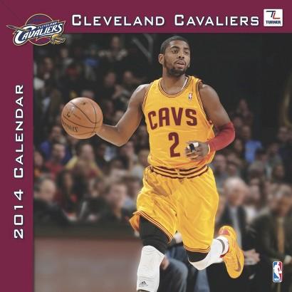 2014 Cleveland Cavaliers Wall Calendar