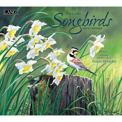 Lang Songbirds 2014 Wall Calendar
