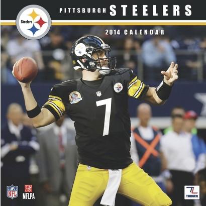 2014 Pittsburgh Steelers Wall Calendar