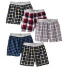 Hanes® Boys Knit Boxer Underwear 5-pack - Assorted Colors