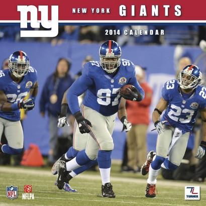 2014 New York Giants Wall Calendar