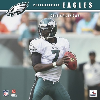 2014 Philadelphia Eagles Wall Calendar