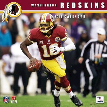 2014 Washington Redskins Wall Calendar