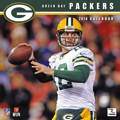 2014 Green Bay Packers Wall Calendar