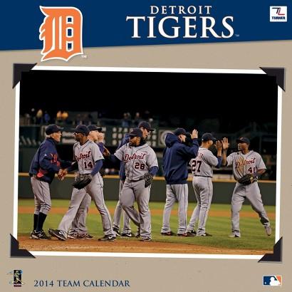 2014 Detroit Tigers Wall Calendar