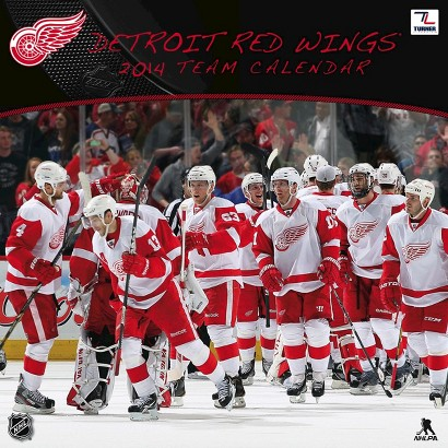 2014 Detroit Red Wings Wall Calendar