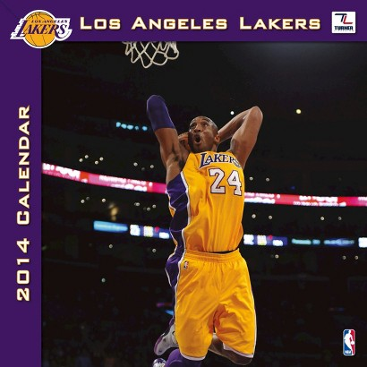 2014 Los Angeles Lakers Wall Calendar