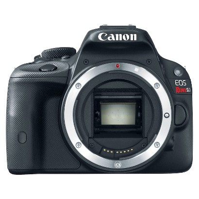 Canon EOS Rebel SL1 18MP Digital SLR Camera Body - Black