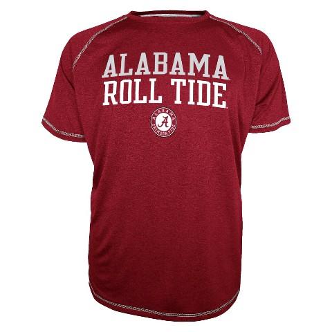 Alabama Crimson Tide Red Men's Raglan