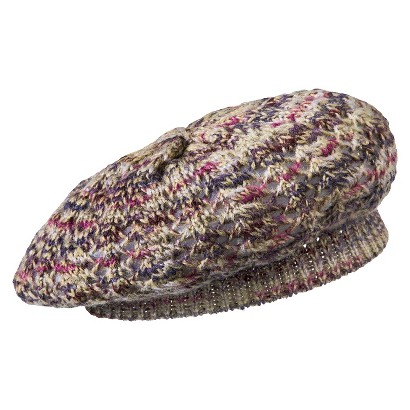 Mossimo Supply Co. Space Dye Beret Hat  - Multicolored