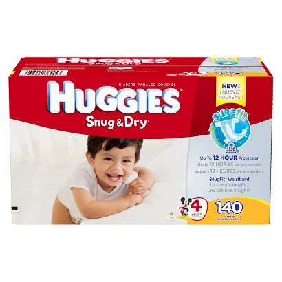 HUGGIES® Snug & Dry Baby Diapers - Giant Pack (Select Size)