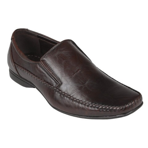 Men's Boston Traveler Square Toe Slip-on Loafers - Brown