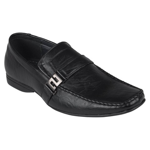 Men's Boston Traveler Slip-on Loafers - Black