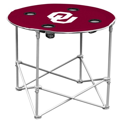 Oklahoma Sooners Portable Table