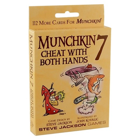 MUNCHKIN™ 7 Cheat with Both Hands Steve Jackson Adventure Themed Game