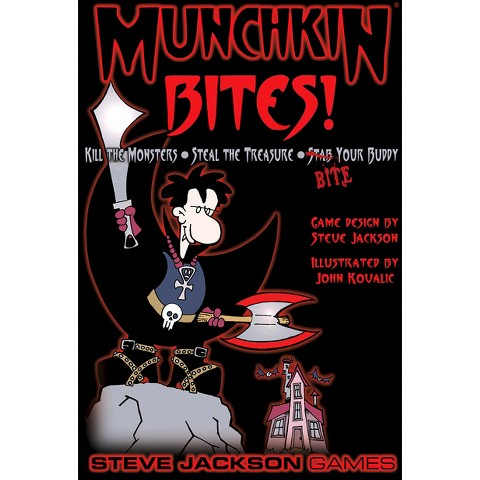 MUNCHKIN™ Bites Steve Jackson Vampire Themed Game