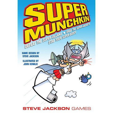 SUPER MUNCHKIN™ Steve Jackson Superhero Themed Game