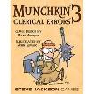 MUNCHKIN™ 3 Clerical Errors Steve Jackson Adventure Themed Game