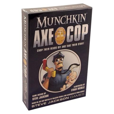 MUNCHKIN™ Axe Cop Steve Jackson Card Game