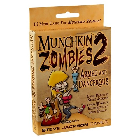 MUNCHKIN™ Zombies 2 Armed and Dangerous Steve Jackson Game