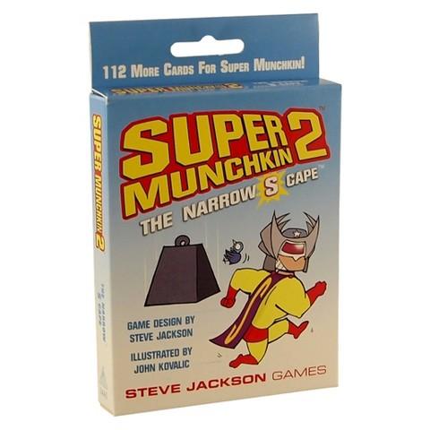 SUPER MUNCHKIN™ 2 The Narrow S Cape Steve Jackson Superhero Themed Game
