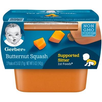 Gerber 1st Foods Squash 5 oz 2 pk