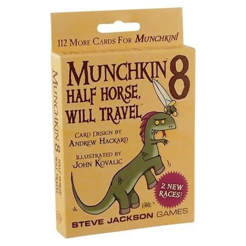 MUNCHKIN™ 8 Half Horse, Will Travel  Card Game