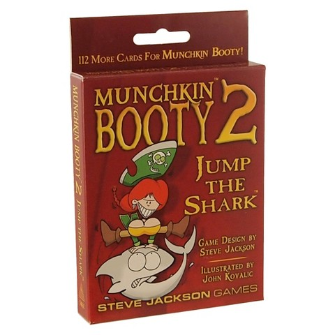 Munchkin Booty 2 Jump the Shark Card Game Expansion Pack