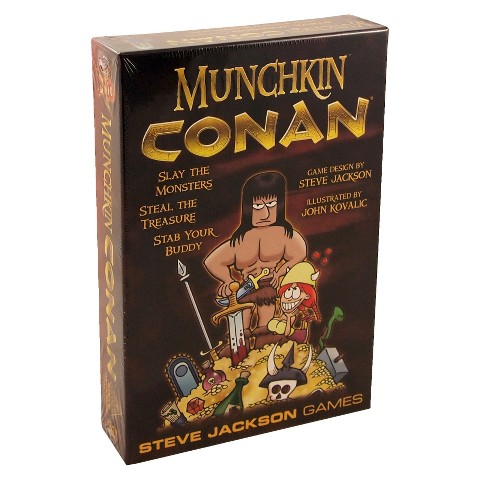 MUNCHKIN™ CONAN® The Barbarian Steve Jackson Game