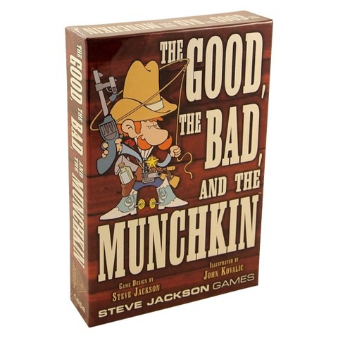 MUNCHKIN™ The Good, The Bad and The Munchkin Steve Jackson Game