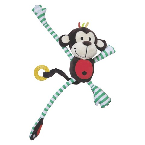 Edushape Plush Toy - Happy Monkey