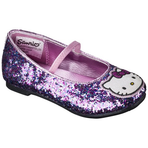 Hello Kitty Toddler Girl's Ballet Flat - Multicolored
