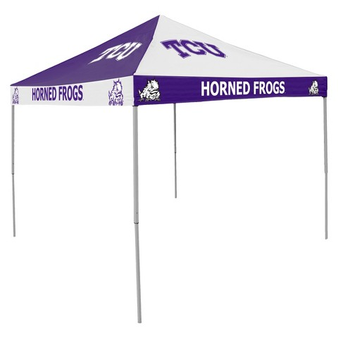 TCU Horned Frogs Checkerboard Canopy Tent
