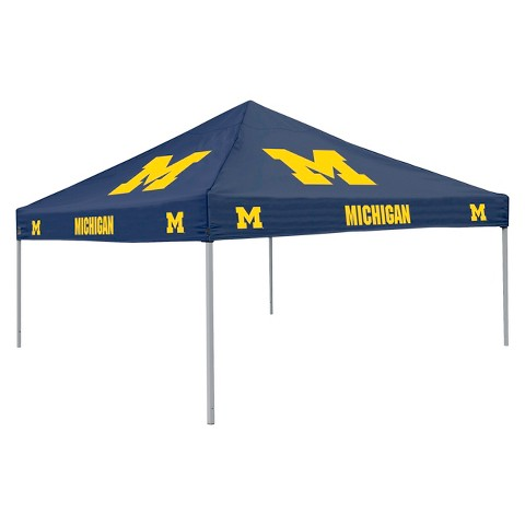 Michigan Wolverines Navy Canopy Tent