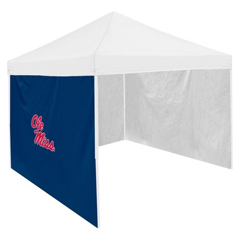 Ole Miss Rebel Logo Navy Side Panel - 9' x 9'