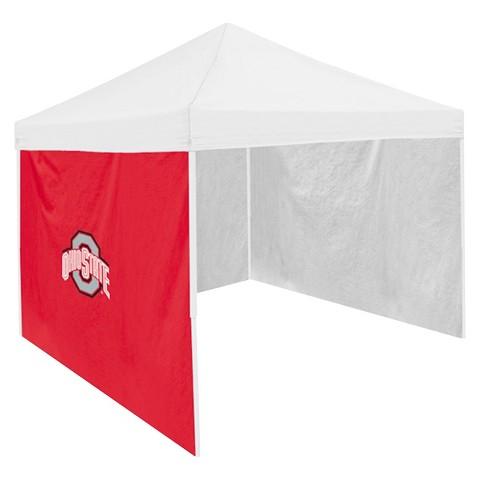 Ohio State Buckeyes Logo Red Side Panel - 9' x 9'