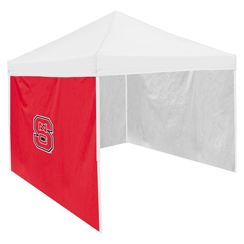 NC State Wolfpack Logo Red Side Panel - 9' x 9'