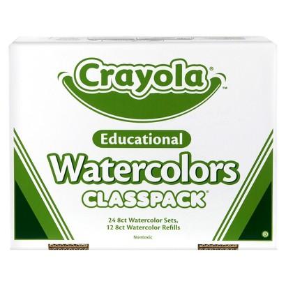 Crayola Watercolor Classpack
