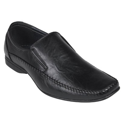 Men's Boston Traveler Square Toe Slip-on Loafers - Black