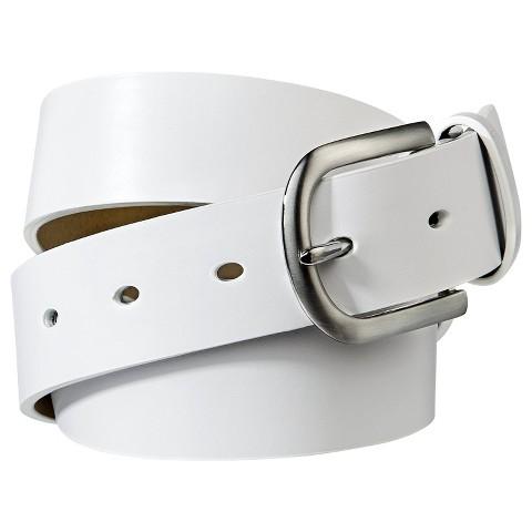 Merona® Smooth Belt - White