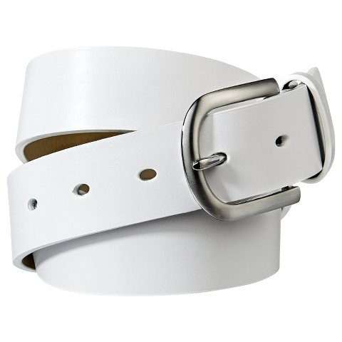 Women's Smooth Belt - White - Merona™