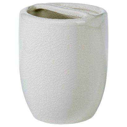 THRESHOLD™ COVE POINT TOOTHBRUSH HOLDER - CREAM