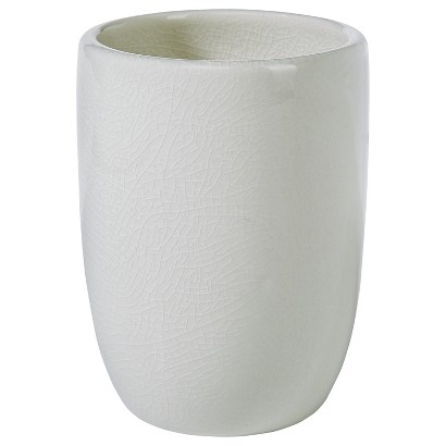 THRESHOLD™ COVE POINT BATHROOM TUMBLER - CREAM