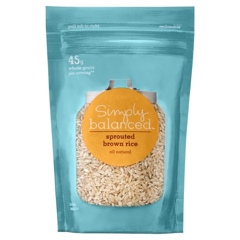 Simply Balanced Sprouted Brown Rice 10 oz