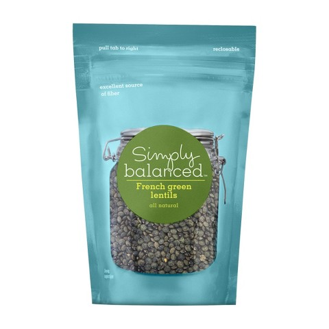 French Green Lentils 12 oz - Simply Balanced™