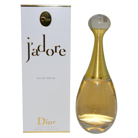 Women's J'adore by Christian Dior Eau de Parfum Spray - 3.4 oz