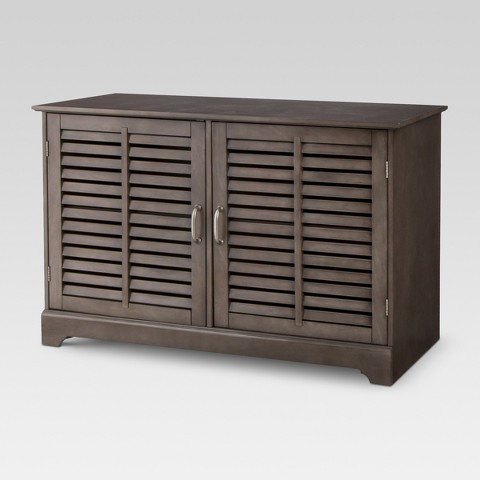 Threshold™ Shuttered Door TV Stand