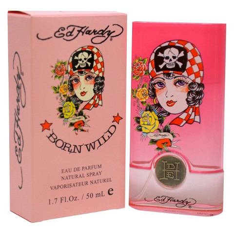 Women's Ed Hardy Born Wild by Christian Audigier Eau de Parfum Spray - 1.7 oz